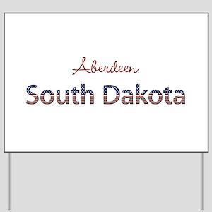 Custom South Dakota Yard Sign