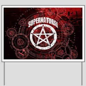 Supernatural Yard Sign