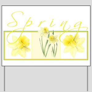 Spring Yard Sign