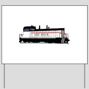 Locomotive Yard Sign
