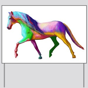 A horse of a Different Colour Yard Sign