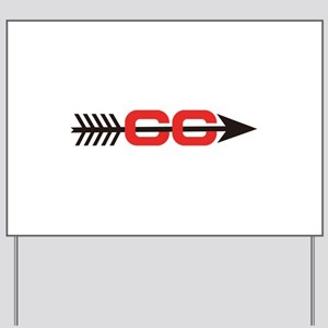 Cross Country Logo Yard Sign