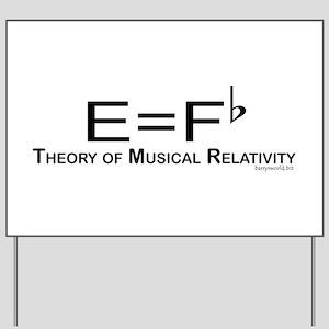 Musicality Yard Sign