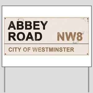 Abbey Road LONDON Pro Yard Sign