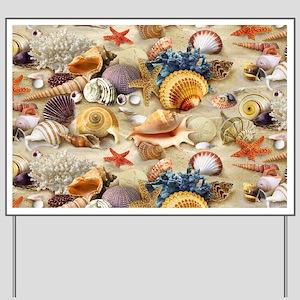 Sea Shells Yard Sign