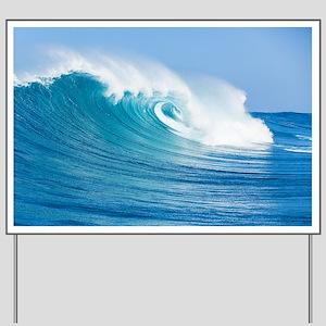 Blue Wave Yard Sign