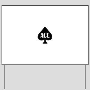 Ace Kicker Yard Sign