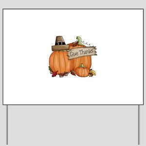 Thanksgiving Yard Sign