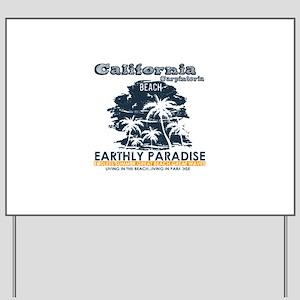 California - Carpinteria Yard Sign