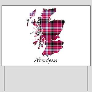 Map-Aberdeen district Yard Sign
