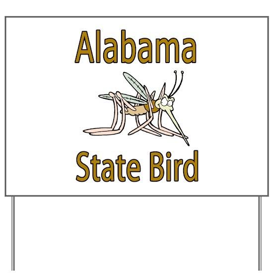 Alabama State Bird Yard Sign By The Minnesota Community Guide Cafepress