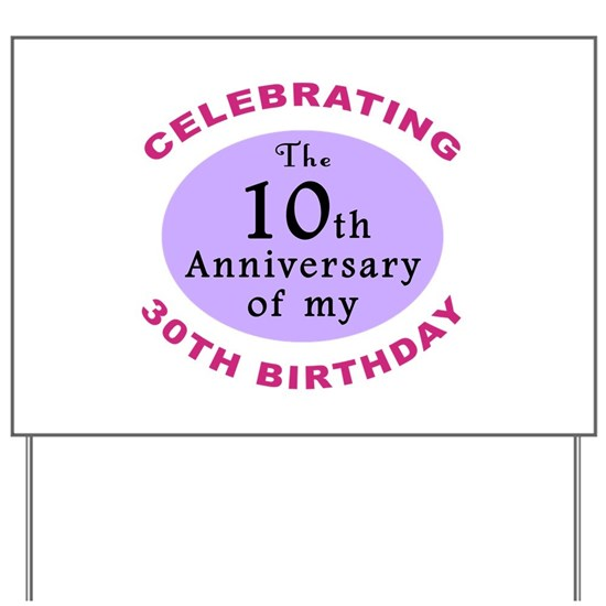 Mens Funny 40th Birthday Yard Sign by ThePixelGarden