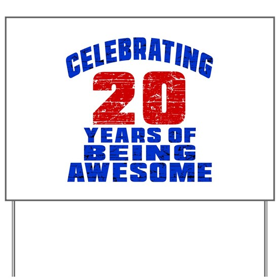 20 Years To Be This Awesome