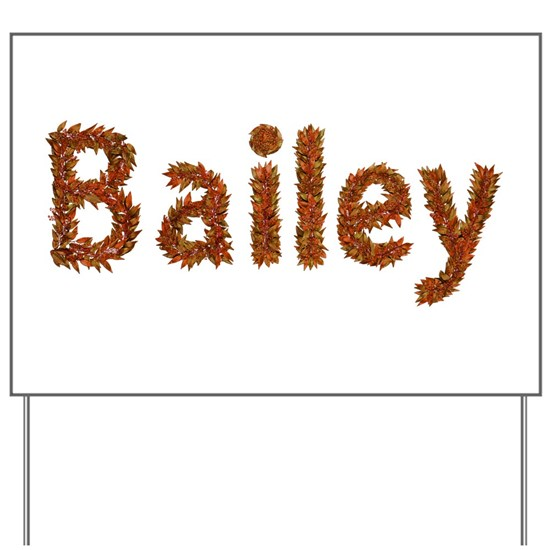 Bailey Fall Leaves