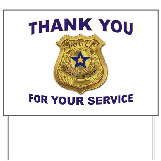 POLICE THANKS