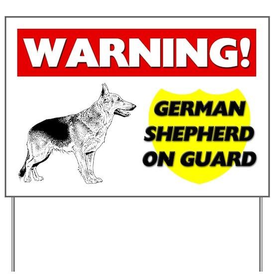 German Shepherd Sign