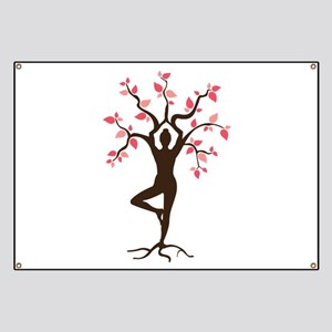 Yoga Banners Cafepress