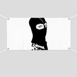 Ski Mask Banners Cafepress