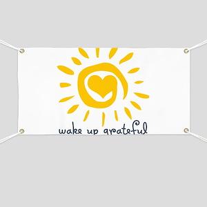 Gratitude Banners Cafepress