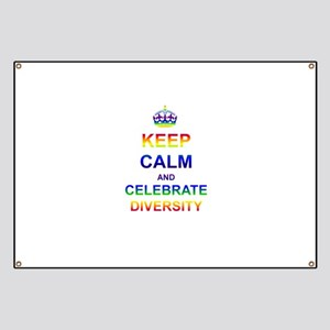 Keep Calm and Celebrate Diver Banner