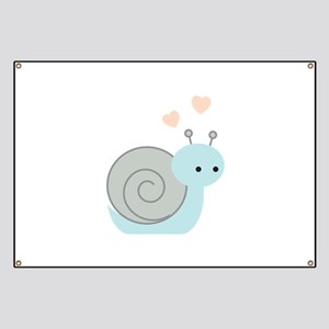 Lovely Snail Banner