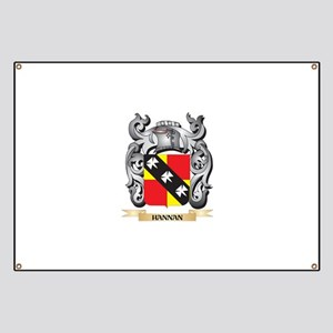 Hannan Coat of Arms - Family Crest Banner