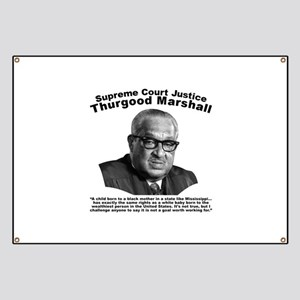 Thurgood Marshall: Equality Banner