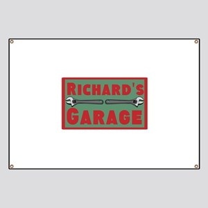 Personalized Garage Banner