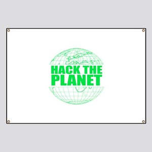 Hack The Planet Banner