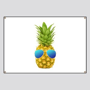 Cool Pineapple Banner