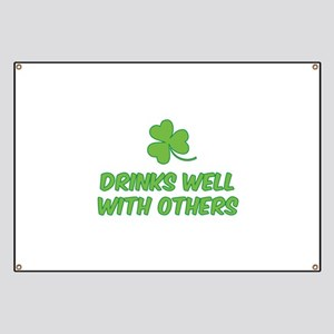 Drinks well with others Banner