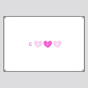 Cure Pink Hearts Breast Cancer for Lola Banner