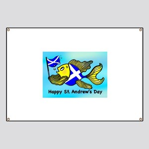 Happy St. Andrews Day Banner