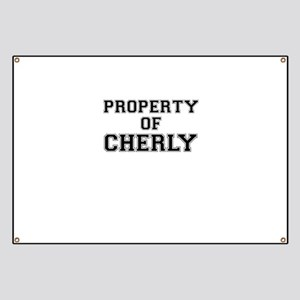 Property of CHERLY Banner