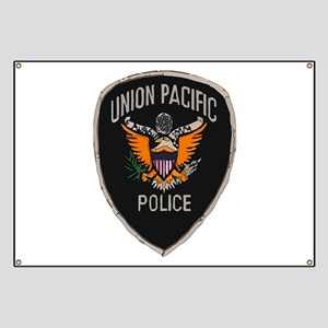 Union Pacific Police patch Banner