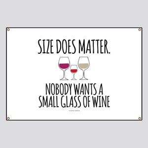 Funny Wine Quotes Banners - CafePress
