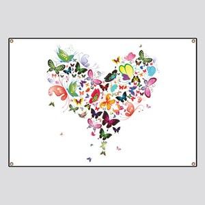 Heart of Butterflies Banner