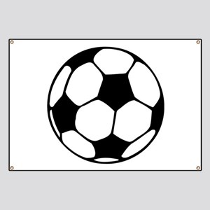 Soccer Football Icon Banner