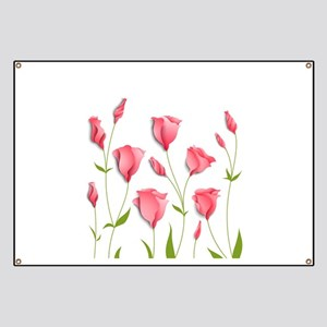 Pretty Flowers Banner