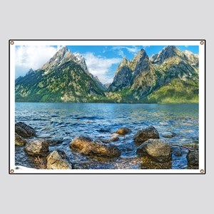 Grand Teton National Park Banner