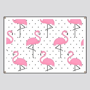 Cute Flamingo Banner