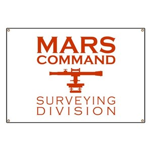 Mars Command Surveying Division Banner