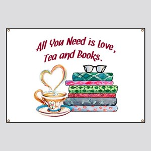 All You Need is Love, Tea and Books Banner