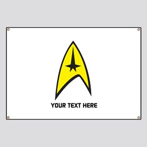 Star Trek Symbol Personalized Banner