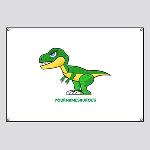 T-rex personalized Banner