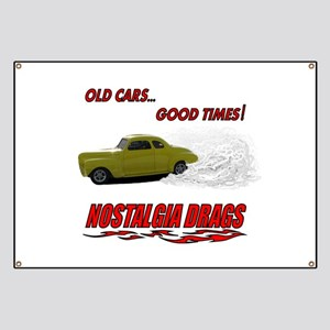OLD CARS...GOOD TIMES! T-Shir Banner