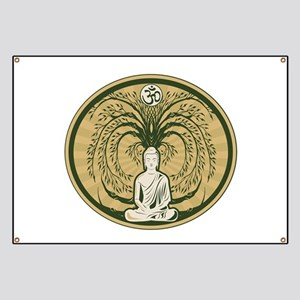 Buddha and the Bodhi Tree Banner