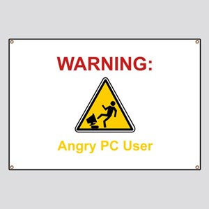 Angry PC User Banner