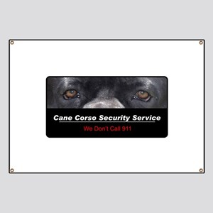 Cane Corso Security Service Banner