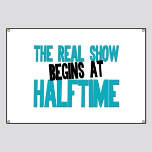 Marching Band Halftime Banner